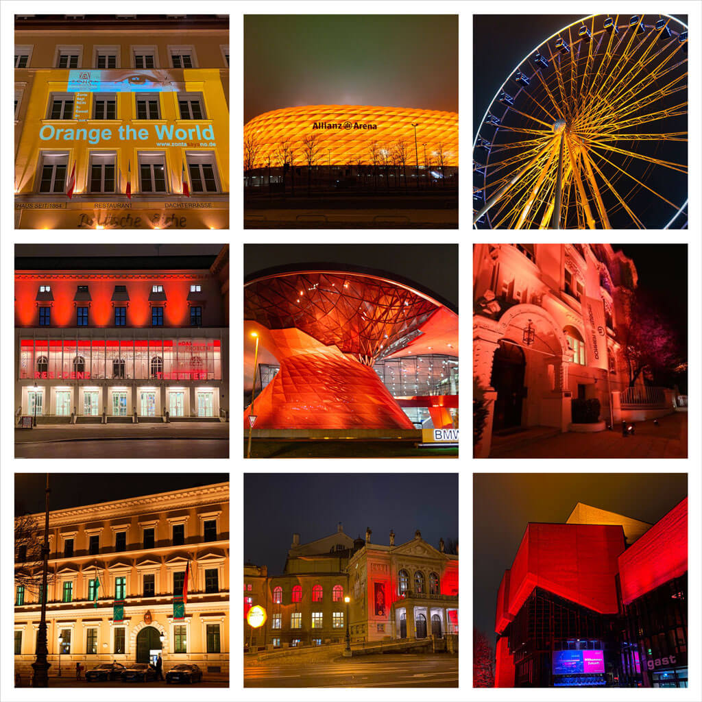 ZONTA München Orange Day 2020 ZONTA gegen Gewalt gegen Frauen